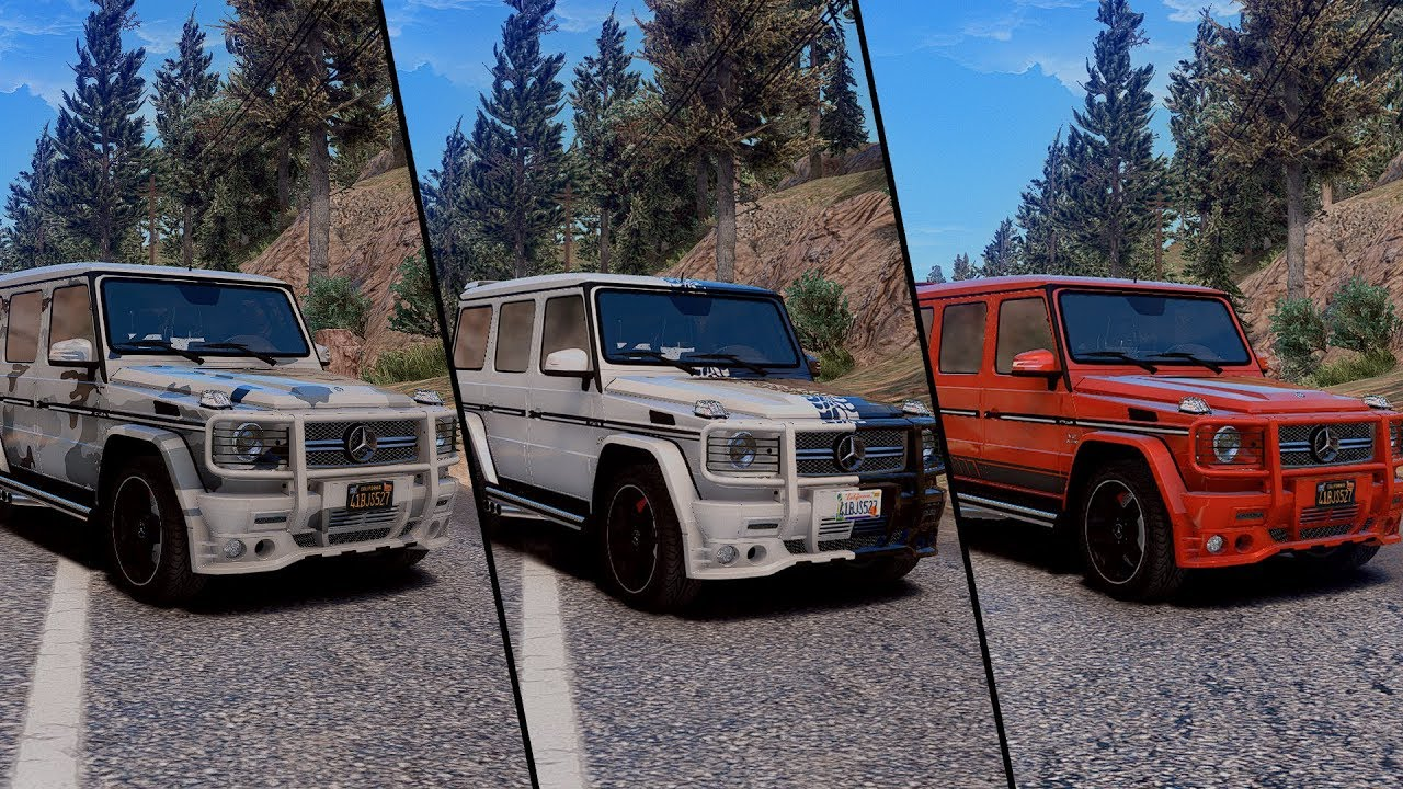 Mercedes-Benz G65 AMG SMOTRA EDITION В ГТА 5 / КАК ...