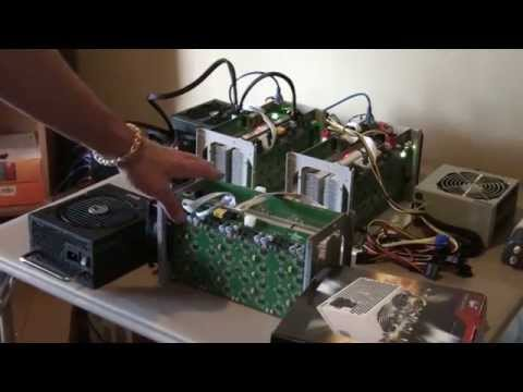 Bitcoin Antminer S1. Choosing the correct power supply, setu