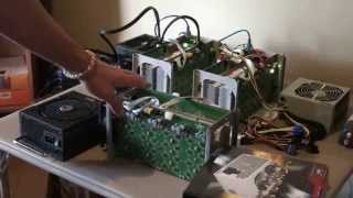 Bitcoin Antminer S1. Choosing the correct power supply, setup and operation.