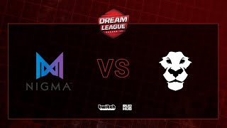 Nigma vs Ad Finem, DreamLeague S13 QL, bo2, game 1 [CrystalMay]