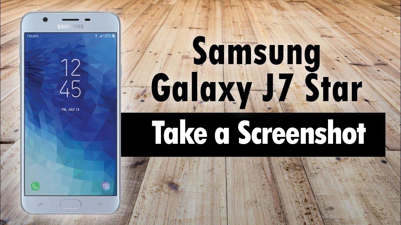 Samsung Galaxy J11 Star How to Take a Screenshot  H11TechVideos