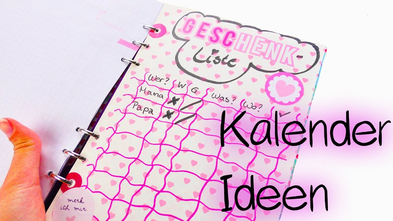 Diy Inspiration Challenge 83 Kalender Ideen Kathis Geschenke