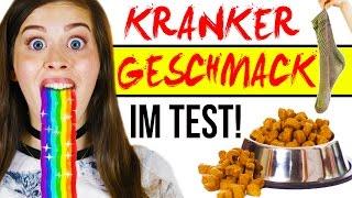 Die ABARTIGSTEN GESCHMÄCKER der Welt ESSEN im LIVE TEST!