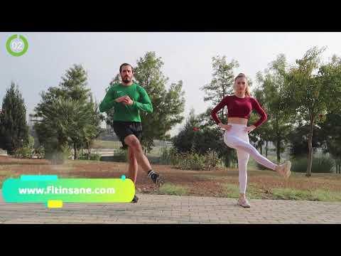 Side Lunge + Cross Kick