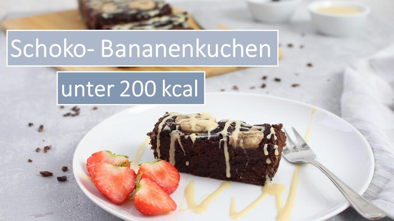 Schoko Bananenkuchen 🍫🍌  kalorienarm   unter 12 kcal   gesund abnhemen   Cooking Club