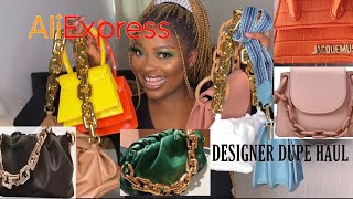 ALIEXPRESS BAGS BOUJEE ON A BUDGET//DESIGNER DUPES HAUL