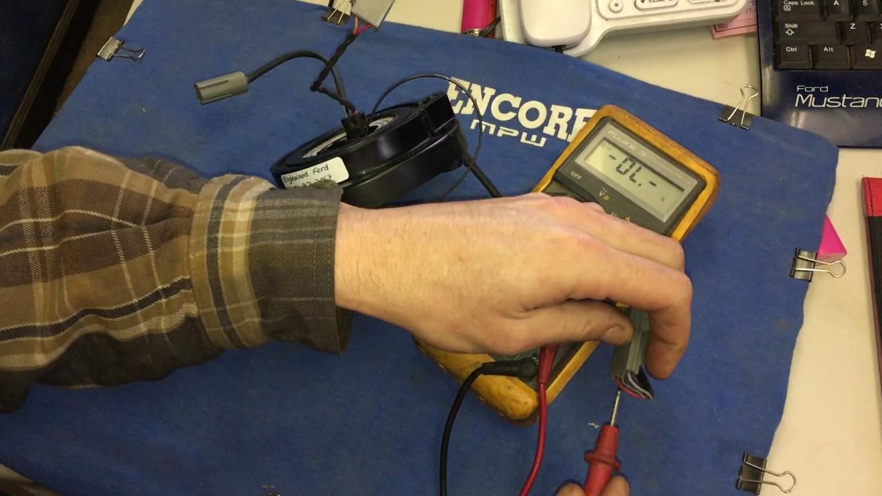 medium resolution of ford clock wiring
