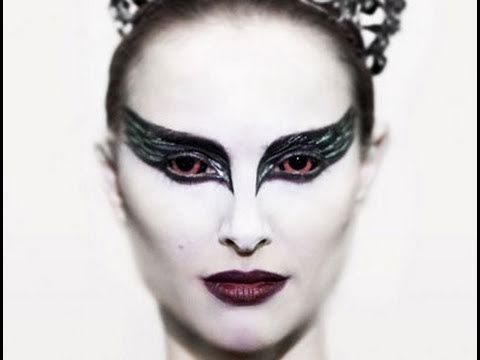 Black swan makeup tutorial.