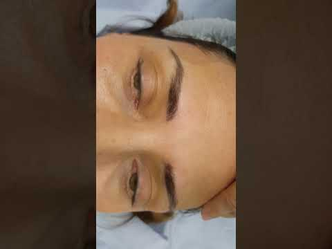 Healed Microbladed Eyebrows after 1 session by El Truchan @ Perfect Definition
