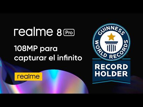 realme 8 Pro I 108MP para batir un récord Guinness Mundial