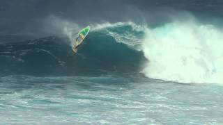 Windsurfing Pe'ahi (JAWS) January 21, 2015