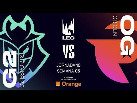 G2 VS ORIGEN | LEC | Spring Split [2019] League of Legends thumbnail