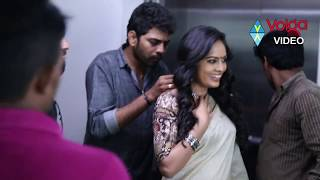 Hebah Patel Ekkadiki Pothavu Chinnavada Movie Making -Volga Videos