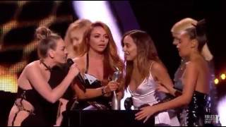 Little Mix acceptance speech Brit awards 2017