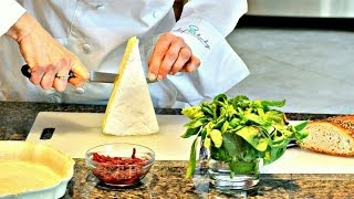 Chef Beckys Sun-dried Tomato Basil Stuffed Brie