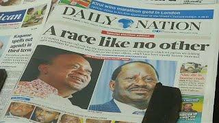 Κένυα: Αντίστροφη μέτρηση για τις κρίσιμες εκλογές