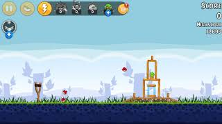 Poached Eggs: Level 1 // Angry Birds Let