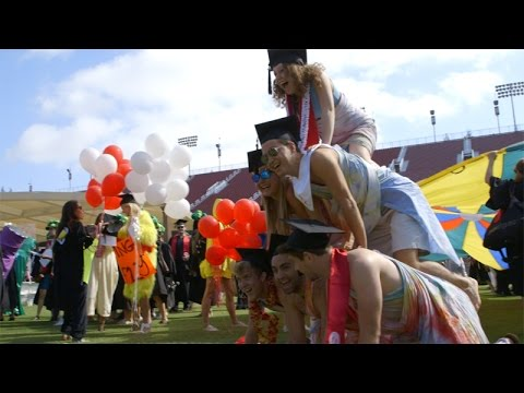 Stanford Commencement Wacky Walk 2015