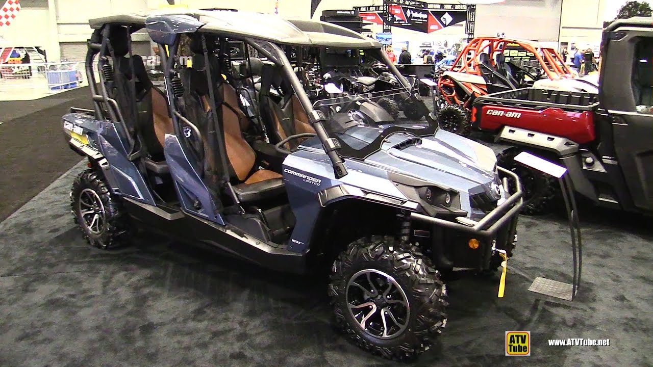 2017 can am commander max limited 1000 side by side atv. Black Bedroom Furniture Sets. Home Design Ideas
