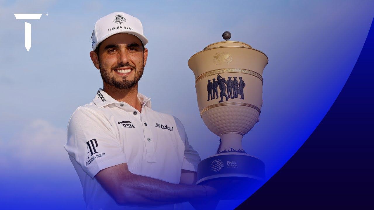Mexico's Abraham Ancer wins WGC event for 1st PGA Tour title