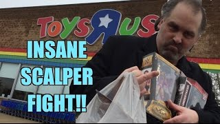 Getting SHOT AT for Stealing Scalpers WWE Mattel Elite Wrestling Figures from TOYRUS