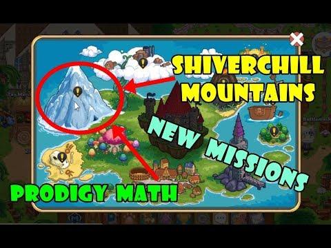 Prodigy Math Game Shiverchill Mountains Level 37