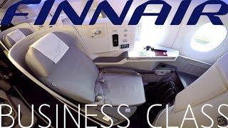 Finnair BUSINESS CLASS Tallinn to London|Airbus A350-900