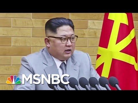 Trump & South Korean President Moon Meet Amid Fears For North Korean Summit | Velshi & Ruhle | MSNBC