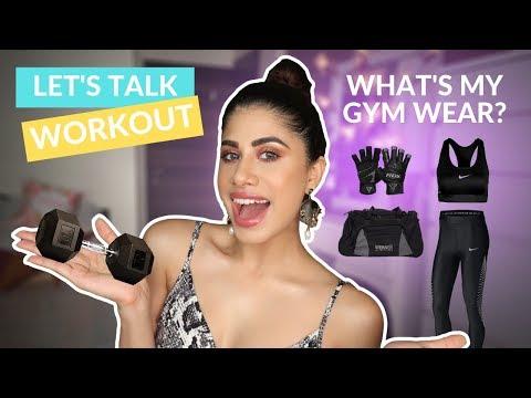 WORKOUT WEAR FOR WOMEN | Tights, sports bras, underwear... || Malvika Sitlani