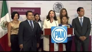 Conferencia de Prensa Dip Beatriz Zavala Peniche sobre el tema de Tekantó.
