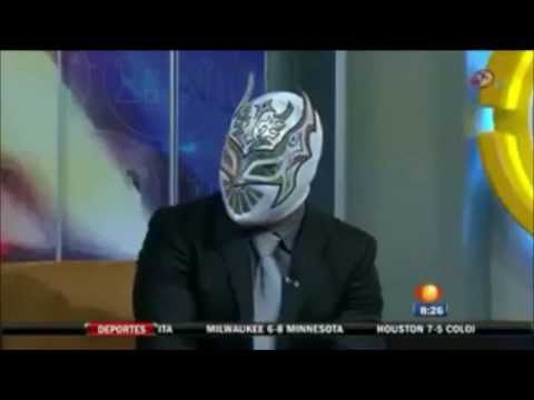 Sin Cara and Lilian Garcia interview