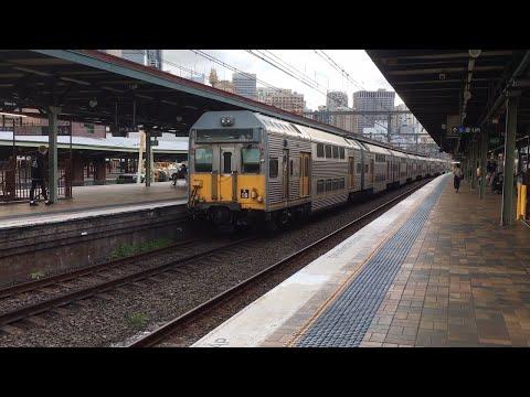 Trains at Central/Sydney