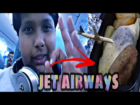 (Travel vlog)Jet airways economy class Review: Qatar to India!