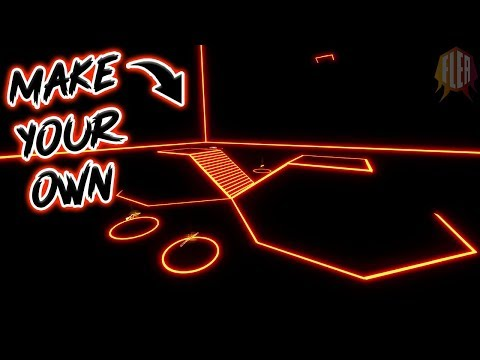 How To Make Your Own NEON 1v1 Map!