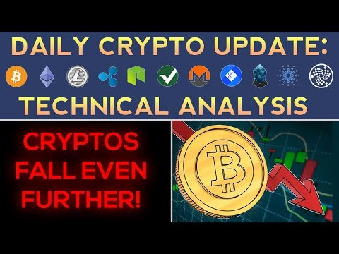 CRYPTOS FALL EVEN FURTHER! (12/27/17) Daily Update + Technical Analysis