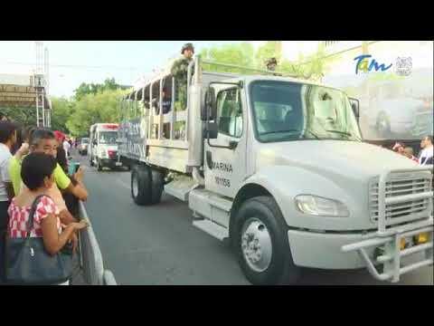 Parada militar del 16 de Septiembre en Ciudad Victoria, Tamaulipas
