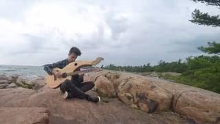 Wind Of Change - Scorpions - (Harp Guitar Cover) Jamie Dupuis