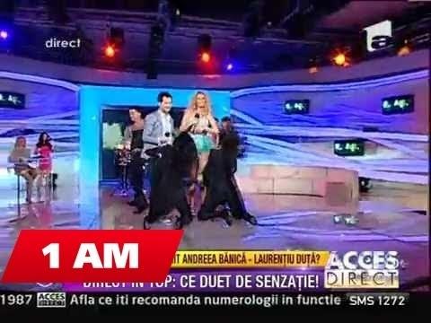Laurentiu Duta si Andreea Banica @ Acces Direct ( Antena 1 ) part.2