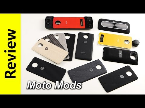 Moto Mods | (almost) all of them!