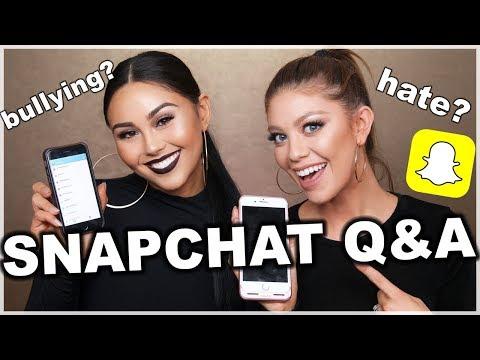 One Brand Chit Chat GRWM: Sleek Makeup + Snapchat Q&A!!