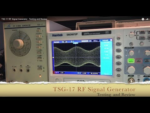 TSG-17 RF Signal Generator - Testing and Review thumbnail