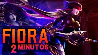 FIORA en 2 MINUTOS | Parodia League of Legends - Coolife