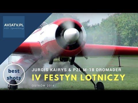 Jurgis Kairys & PZL M-18 Dromader - IV Festyn Lotniczy Ostrów 2014