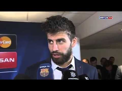 Gerard Piqué clear that tie not over yet following win in Paris