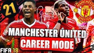 Champions league final!!! season 2 finale!!! fifa 18 manchester united career mode #21
