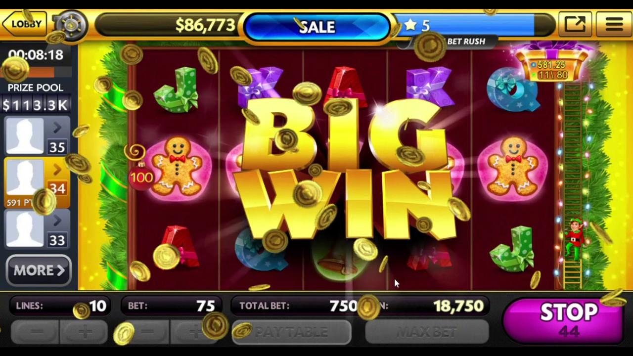 Caesars Slots Free Casino Christmas Edition Youtube