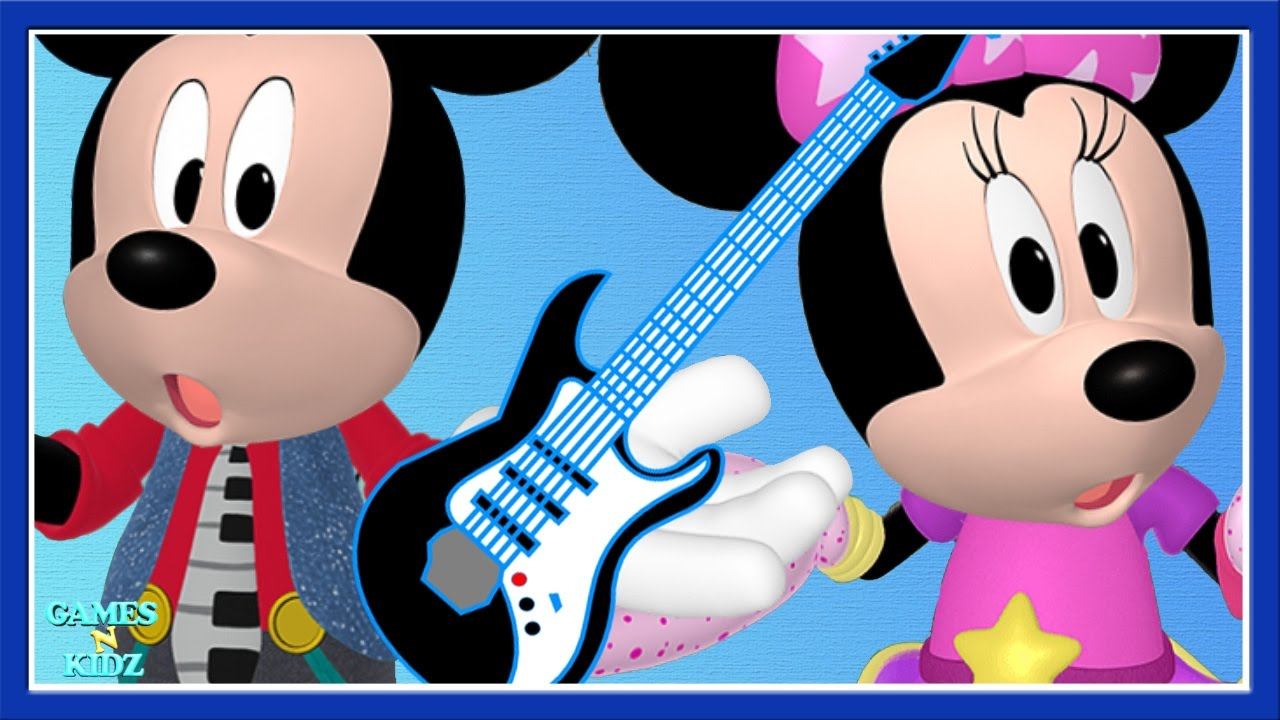 Mickey Mouse Clubhouse Mickey amp Minnie Musicians Fire