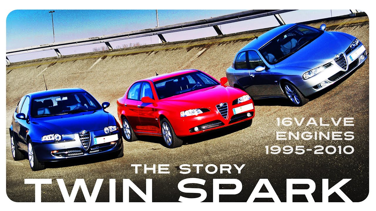 The Story Of Twin Spark 16v Engines