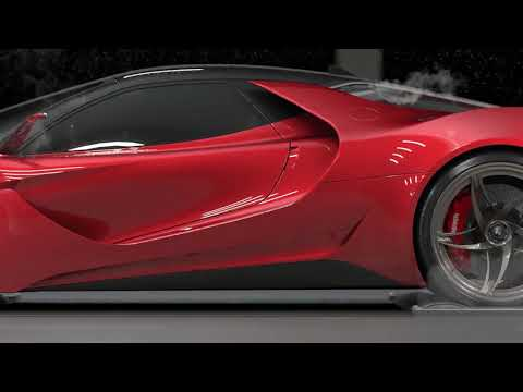 The Stallone might be Ferrari's sexiest concept car... and it isn't made by Ferrari!
