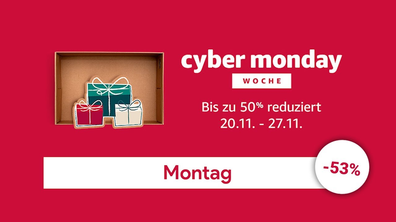 Cyber Week Angebote Amazon Cyber Monday Week Montag Top Angebote Des Tages Beste Schnäppchen